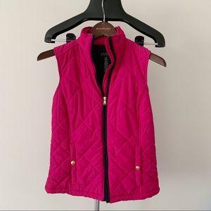 Ralph Lauren Pink Quilted Vest NWOT - XS